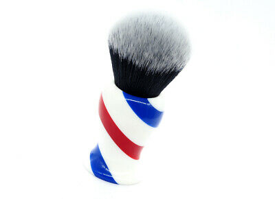 Yaqi Monster Barberpole Synthetic Shaving Brush - 30Mm Knot! - Brand New!