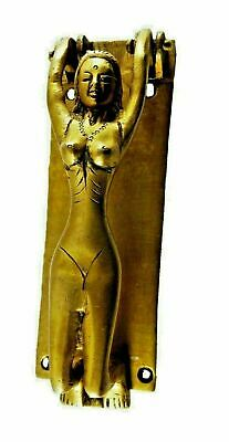 Vintage Style Brass Door Knocker Nude Lady Door Pull Nude Girl Knocker LD421