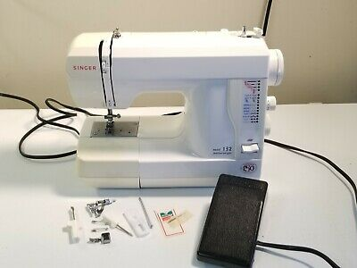 Singer Sewing Machine Model 132 Featherweight. Works.