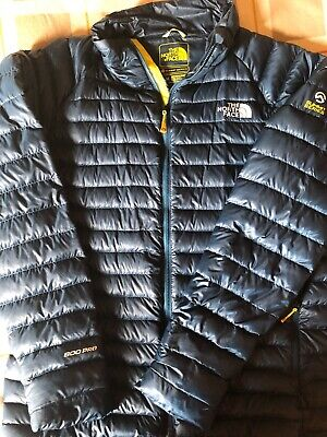 North Face Mens Down Jacket summit series 800 pro - Blue - medium