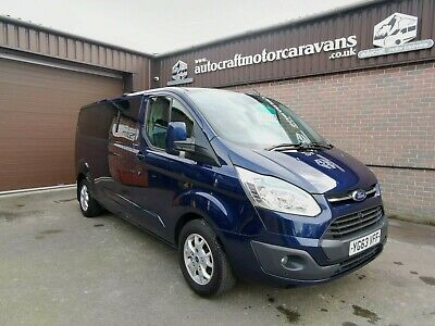 Ford Transit Custom TDCi 290 LIMITED Long Wheel Base Campervan Day Van Motorhome