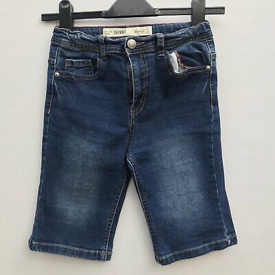 Denim Co. Boys Blues Denim Jeans Shorts Blue 10-11 Yrs Skinny