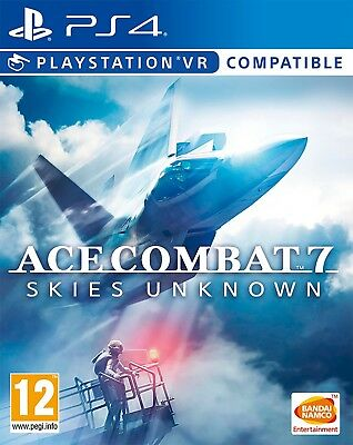 Ace Combat 7 Skies Unknown Playstation 4 PS4 VR Compatible NEW SEALED