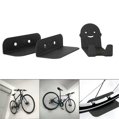 3pcs Wall Mounted Bicycle Stands Support Holder Bike Cycling Pedal Tire Hanger