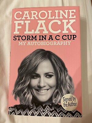 Caroline Flack Storm In A C Cup Signed Book