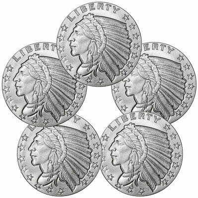 Silver Round 50 Guardhouse Coin Capsules39mm 1 oz