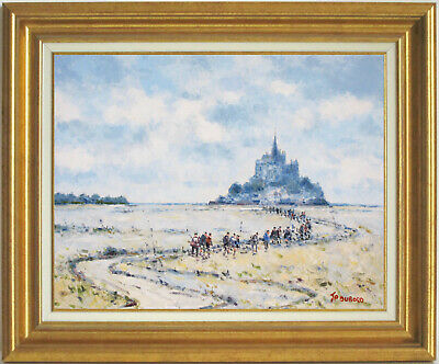 Jean-Pierre Dubord~Well-Listed Artist~Mont Saint-Michel~Normandy~Oil Painting