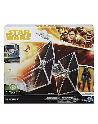 Star Wars Imperial Tie Fighter, Force Link 2.0,Solo A Star Wars Story. New!