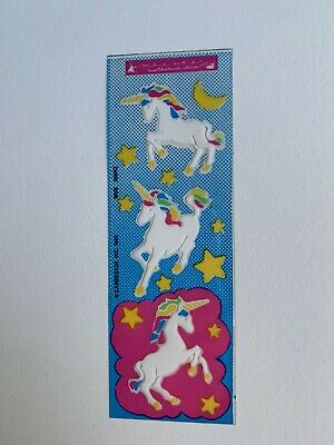 Rare Vintage Stickers - Cardesign -Toots Clear Unicorn
