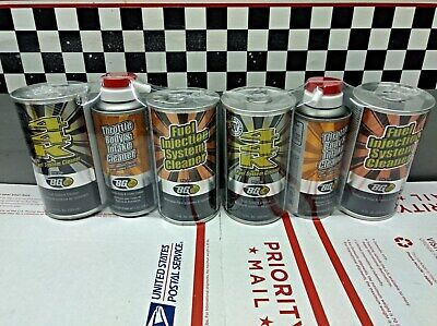 2 BG Products Service Kits 44K Air Intake Fuel Injection System Cleaner