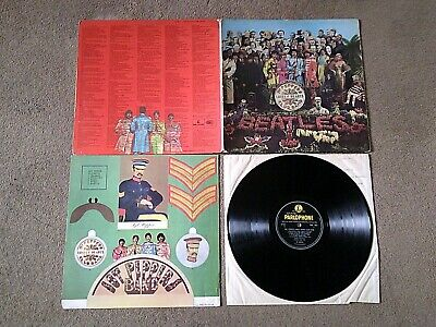 The Beatles - Sgt Pepper - Pmc 7027 - Parlophone - Good++