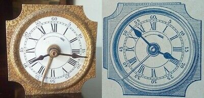 Antique alarm clock Japy Freres  OCTOGONE 1902 - best offer possible - TRY US :)
