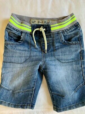 Boys Blue Shorts Age 2-3 years Denim & Co