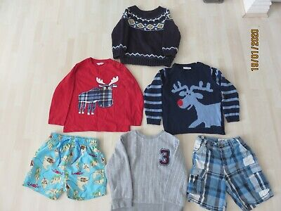 BOY'S 6 ITEM BUNDLE Age 2-3 Years Baby Boden, JoJo Mama Rebel H&M Assorted Items