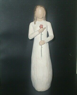 """Demdaco WILLOW TREE Figurine LOVE Orig 2003 Susan LORDI EXCELLENT Cond 9"""" tall"""