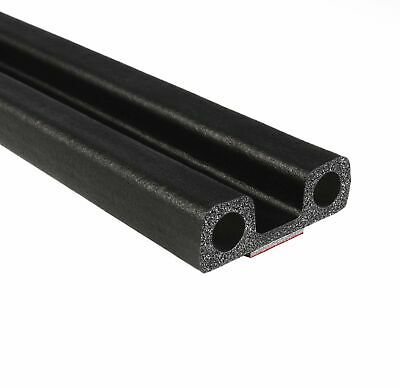 Trim-Lok Square Rubber Lid Seal - EPDM Foam Rubber Seal with BT 3M High Stren...