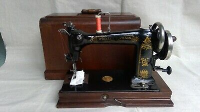 Vintage Wheeler & Wilson D9 Sewing Machine