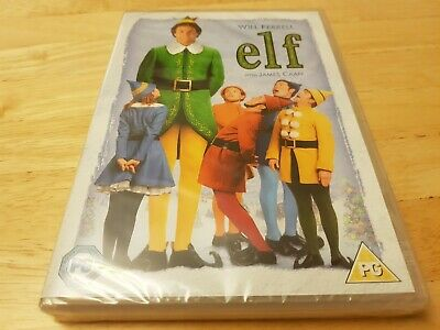 Elf (2003) DVD, NEW & SEALED, Will Ferrell