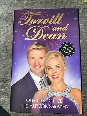 Jayne Torvill And Christopher Dean Signed Book