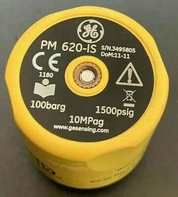 GE DRUCK PM 620-IS Pressure Module 100barg Used 3 Times For Project Then Stored