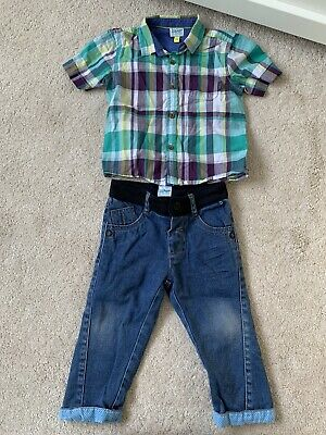 ted baker boys 12-18 months Jeans And Shirt