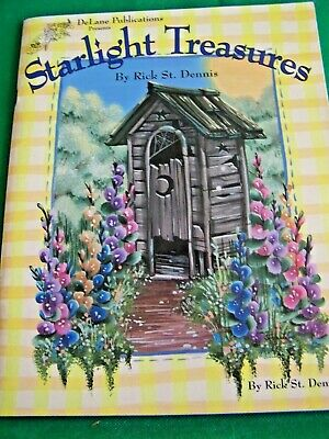 Starlight Treasures By Rick St Dennis 1995 Gardens Flowers Cottages Paint Book