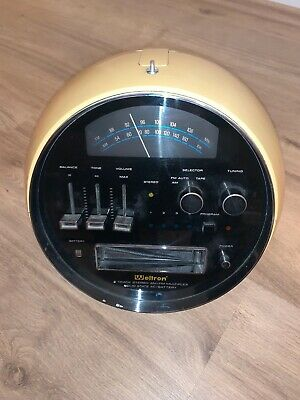 Space Age Weltron Kugelradio 2001 Spaceball Auto Camping