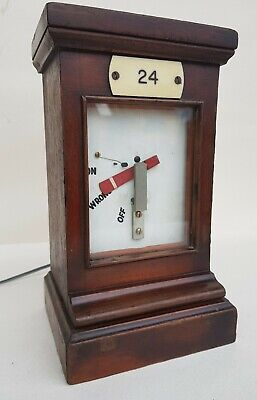 GWR Great Western Railway Home or Starting Semaphore Signal Electric Repeater.