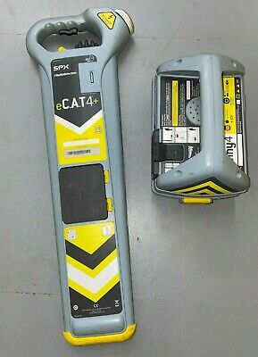 Radiodetection eCat4+ & Genny cable Detector / cat avoidance tool Strike Alert*