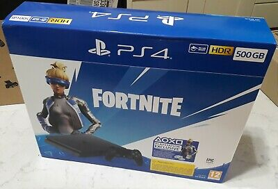 Console Playstation 4 Ps4 Slim 500Gb Nuova + Voucher Fortnite
