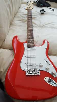 Vintage SWIFT Electric Guitar -  CHERRY RED - 6 String