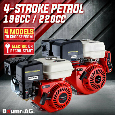 Baumr-AG Stationary Engine Various 4-Stroke Petrol Motor Recoil / Electric Start
