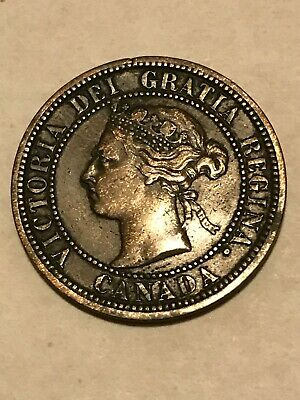 1887 Canada Large One Cent Coin
