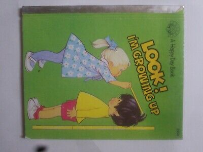 A Happy Day Look! Im Growing Up Childrens Book Used Good hardback small book