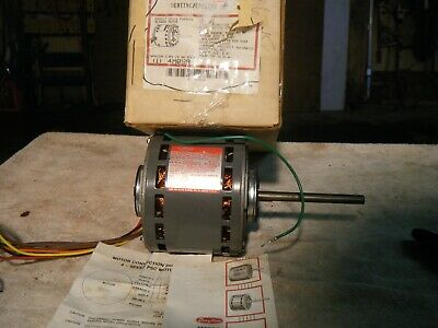 1/2 HP 1075/4 Speed 115 V Dayton 3M142A Direct Drive Blower Motor