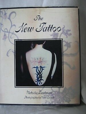 The New Tattoo HARDCOVER DUST JACKET Victoria Lautman FIRST EDITION