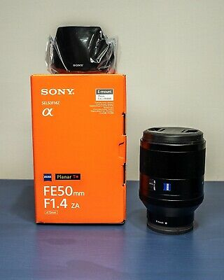 New Sony Zeiss 50mm F/1.4 FE (Open Box)