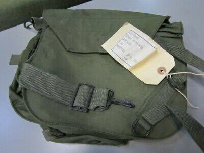 US Military Surplus Issued Gas Mask Bag Carrier Pouch OD Green