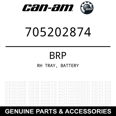 Can-Am 705202874 BRP Right Hand Tray, Battery