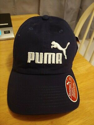 NWT Puma Relaxed Cotton Twill Cap