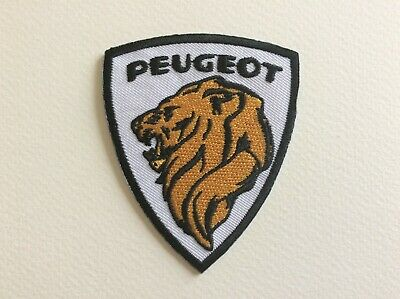 A196 Patch Ecusson Peugeot 6,5*7,5 Cm