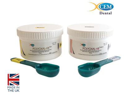 Polyoxal Heavy Body - Dental Silicone Impression Material BASE & CATALYST