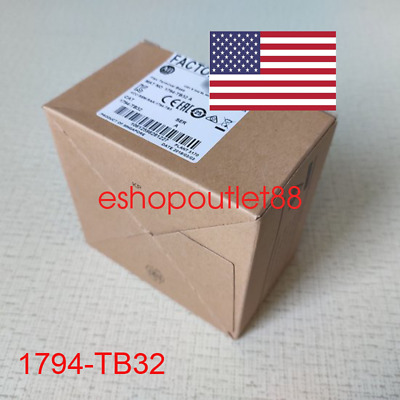 New&Sealed Allen-Bradley Flex Terminal  Base Unit 1794-TB32 for 32 Point Modules