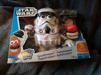 Disney Playskool Mr Potato Head - Star Wars Stormtrooper - Spudtrooper Figure