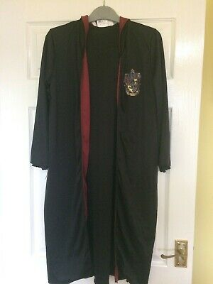 Children's Harry Potter Gryffindor Hooded Cape Cloak Cosplay Party Costume