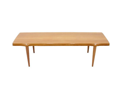 Solid Teak Coffee Table by John Boné Denmark Mikael Laursen 60s 60er