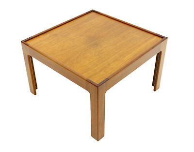 Teak Side Table by Illum Wikkelso Denmark 60s Table 60er