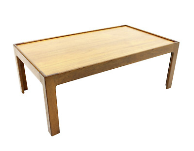 Teak Coffee Table by Illum Wikkelso Denmark 60s Table Denmark 60er
