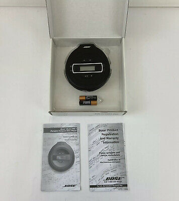 Bose PM-1 Portable CD Player (34144) Boxed | Excellent