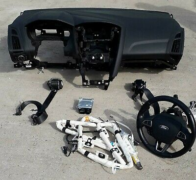 Kit Airbag Completo Ford Focus 14 In Poi Completo
